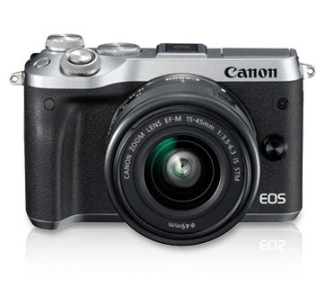 Best Seller Canon Eos M6 Canon M6 Kit 15 45 Is Stm Paket 32gb Garans personal product eos m6 kit ef m15 45 is stm