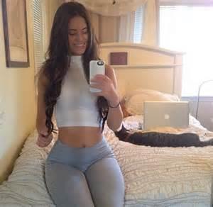 stocking fit girls beautiful models girls selfie yoga pants shorts