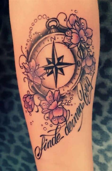 tattoo flower words compass flower tattoo ideas and compass flower tattoo