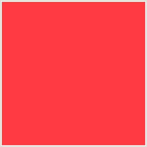 Red Color Combinations by Ff3a40 Hex Color Rgb 255 58 64 Coral Red Red