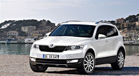 vw snowman skoda snowman seven seater suv rendered autoevolution