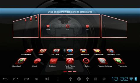 next launcher themes red glas red next launcher theme android apps on google play