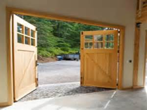how to build swing out garage doors swing out garage door plans swing out doors from real