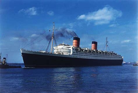 ship university rms queen elizabeth seawise university brochures