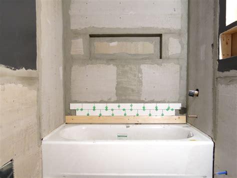 drywalling a bathroom tiling progress in downstairs bathroom blog