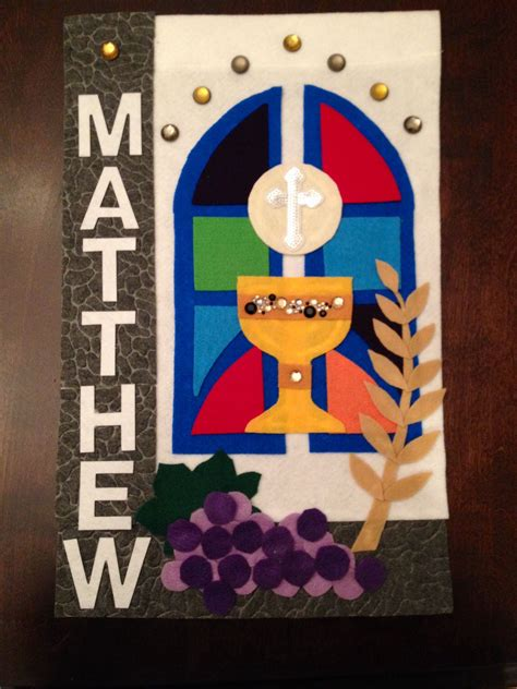 first communion templates for banners first communion banner things i made pinterest