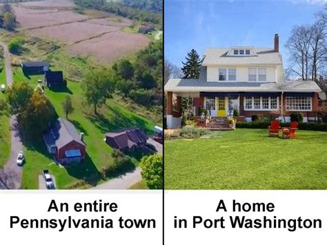 port washington homes priced the same as entire