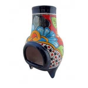 mini talavera chiminea home accessories