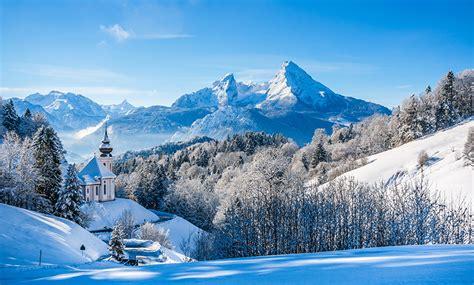 nienhagen wood alemanha 壁紙 ドイツ 冬 風景写真 山 森林 寺院 空 バイエルン州 雪 アルプス山脈 自然 ダウンロード 写真