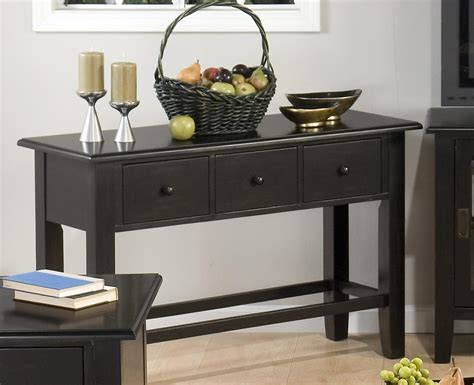 contemporary sofa table black sofa contemporary black sofa table couch tables furniture