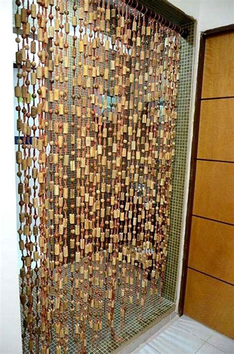 curtains cork cork curtain wine arts crafts pinterest
