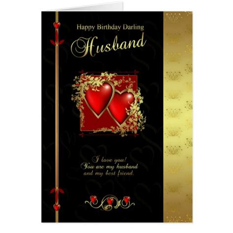 printable happy birthday cards for husband husband birthday card happy birthday husband zazzle