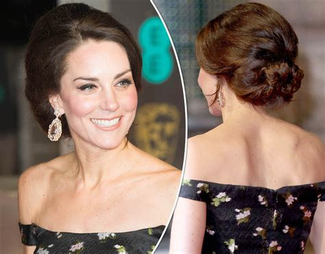 Kate And Hairstyles by Kate Middleton S Baftas Hairstyle How To Achieve