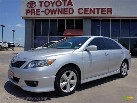 2010 Toyota Camry Se V6 2010 Toyota Camry Se V6 In Classic Silver Metallic