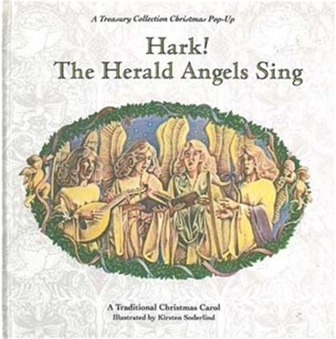 hark the herald slay a year mystery books hark the herald sing a pop up by