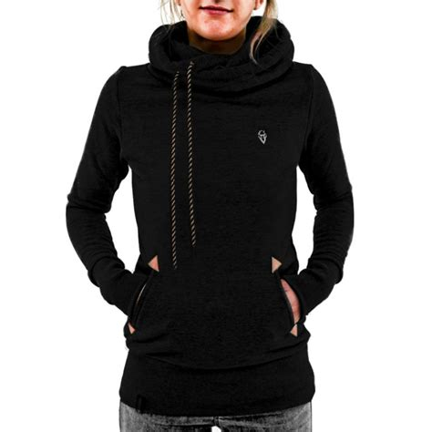 Jaket Sweater Hoodie Jumper Fitnes womens winter sleeve pullover hoodie jacket sweater coat hooded jumper tops