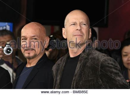 Bruce Willis Honored With A On The Walk Of Fame by Sir Ben Kingsley Bruce Willis Sir Ben Kingsley Honored