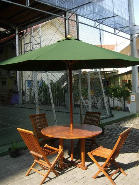 Tenda Payung Cafe Jual Tenda Payung Cafe Parasol Table Set Tirta Jati