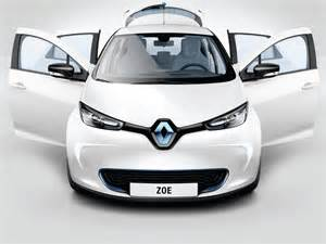 Electric Car Kwh Per Km 2017 Renault Zoe Available With 41 Kwh Battery 400 Km