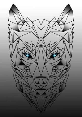 geometric tattoo oslo m 225 s de 25 ideas incre 237 bles sobre tatuajes de pata de lobo