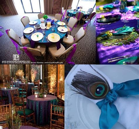39 best images about Peacock Weddinng on Pinterest