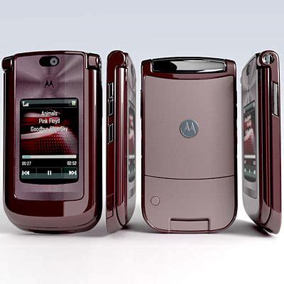 Motorola Razr2 V9 By Ebenstore motorola razr2 v9 mobile phone 3d model