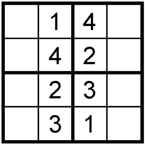 printable sudoku 4x4 printable sudoku 4 x 4 related keywords printable sudoku
