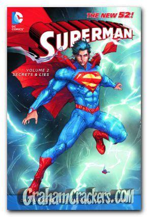 picture of superman volume 2 secrets lies tp the new 52 product details superman vol 2 secret and lies tpb
