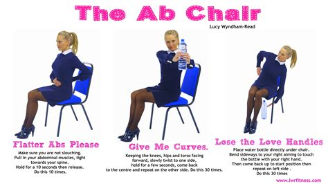 turn your office chair into an ab toning chair and do this 3 move workout in between emails