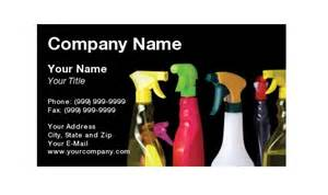 business cards house cleaning exles residential house cleaning business card sles