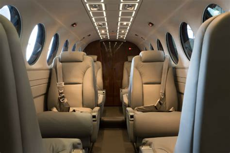 King Air 350 Interior by Gama Aviation Adds King Air 350c Corporate Jet Investor