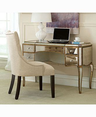 home office desk cabriole mirrored writing desk