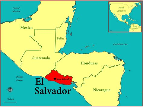 el salvador map gis research and map collection