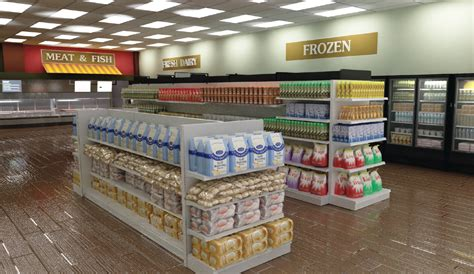 Small Grocery Store Floor Plan by Dgs Retail Store Interior Design Services