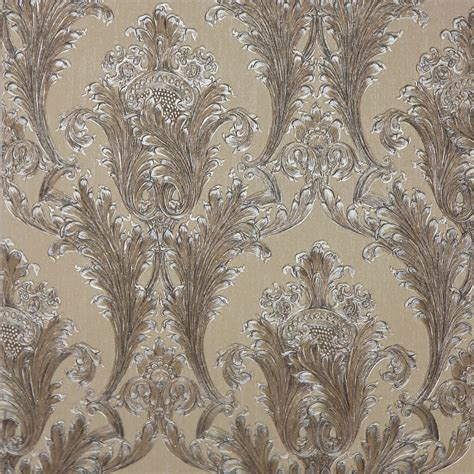 black damask wallpaper home decor arthouse figaro damask wallpaper red cream charcoal