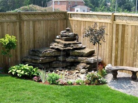 water features for backyards best 25 outdoor waterfalls ideas on diy