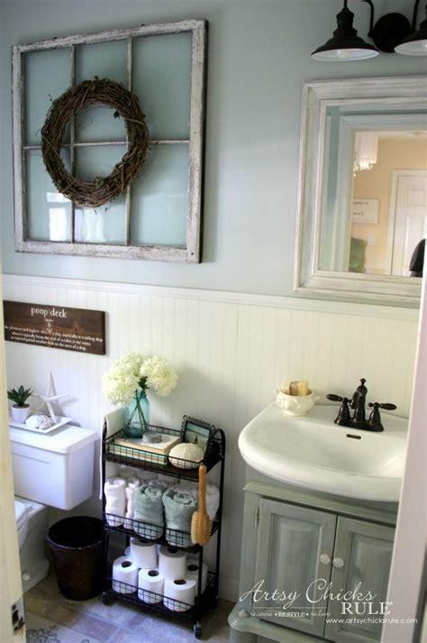 farm bathroom decor best 25 shabby chic farmhouse ideas only on pinterest