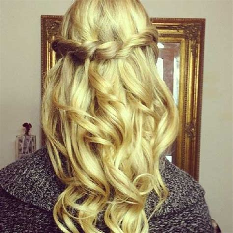 homecoming hairstyles with hair down 20 down hairstyles for prom hairstyles haircuts 2016