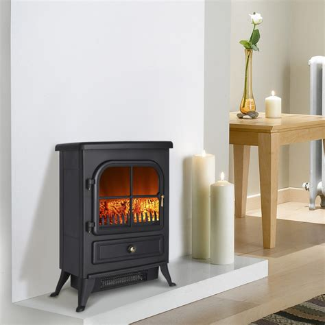 Electric Wood Stove Fireplace by 1800w Electric Fireplace Heater New Portable Wood Burning