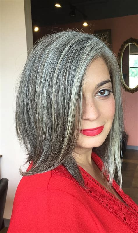salt and peppa hair natural grey hair salt and pepper hair colour gorgeous