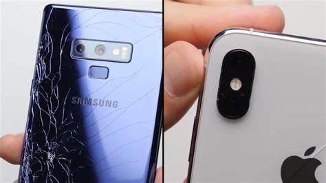 iphone xs max  galaxy note  drop test apples phone doesnt crack  pressure bgr
