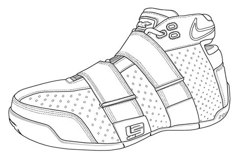 lebron coloring pages lebron shoes coloring pages