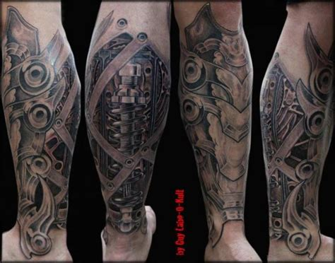 biomechanical tattoo designs for men 50 wonderful biomechanical tattoos on leg