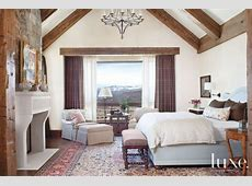 Country Cream Bedroom with Antique Wood Bench - Luxe ... Light Wood Flooring