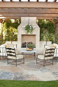Pergola With Fireplace by Pergola With Outdoor Fireplace Pictures Photos And