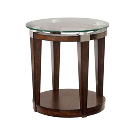 discount accent tables hammary 247 916 solitaire round accent table discount