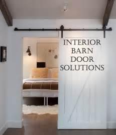 Barn Doors For Homes Interior interior barn door solutions great idea my house my homemy house