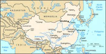 Rivers In China Map by Chinese Geography Readings And Maps Asia For Educators