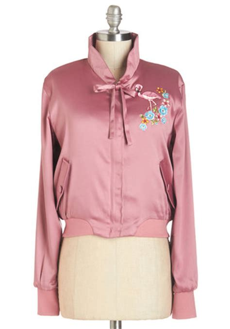 Flamingo Jacket mix and flamingo jacket mod retro vintage jackets