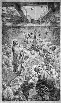 Healing the paralytic at Capernaum - Wikipedia